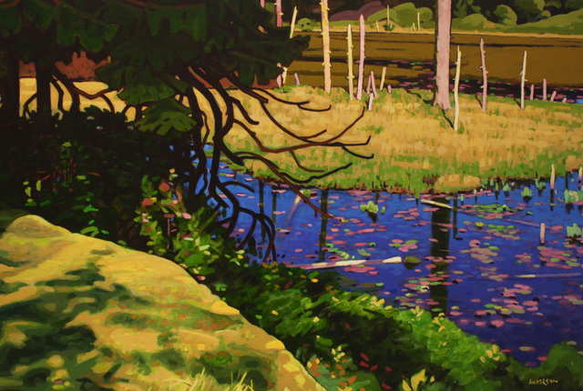 , 'Deadwood Pond,' , Madrona Gallery