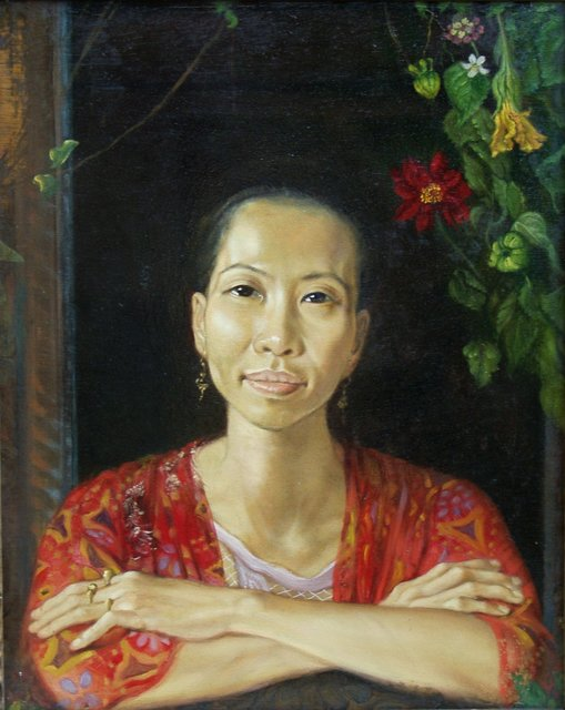 , 'Ru Wang at the window,' 1993, The Noble Sage Collection