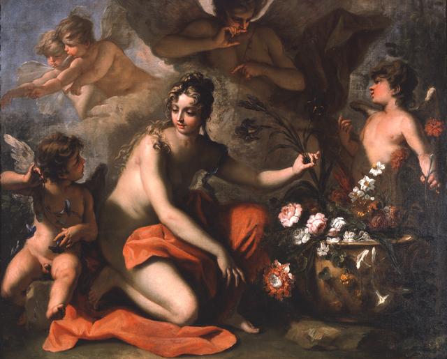 Sebastiano Ricci, 'Flora', 1712, Painting, Oil on canvas, Blanton Museum of Art