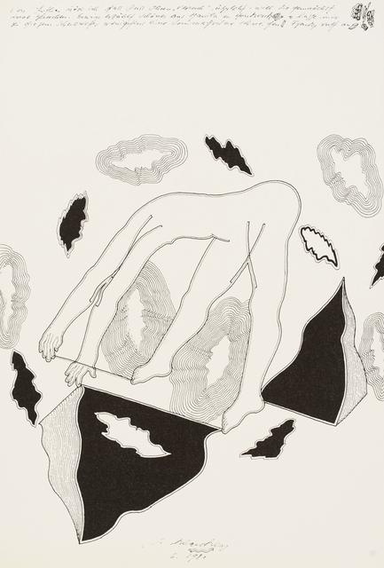 , 'Ziemlich (Körper),' 1979-1981, Galerie Elisabeth & Klaus Thoman