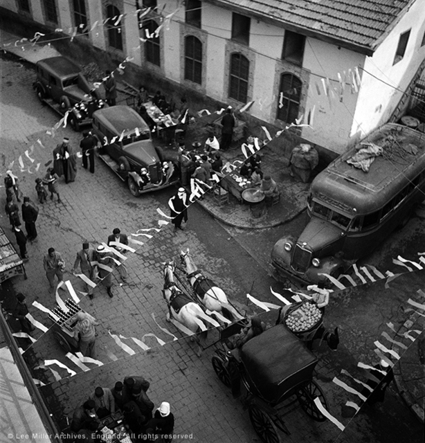 , 'A street scene in Cairo, Egypt,' 1937, °CLAIR Galerie