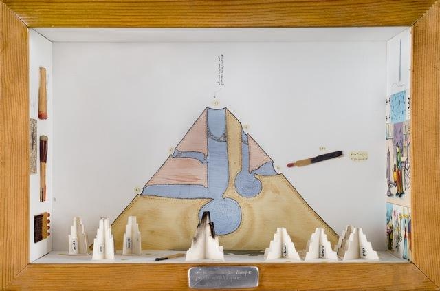 , 'Sull'uso della lampe philosophique,' 1974, Galleria il Ponte