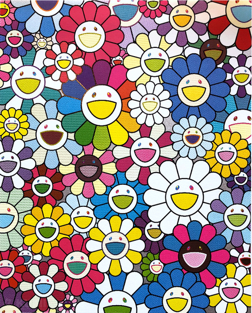 Takashi Murakami, 'Flowers on the Island Closest to Heaven', 2018, Fineart Oslo