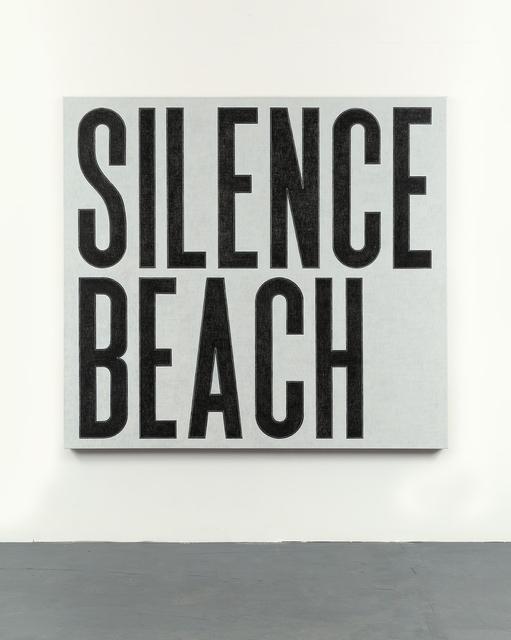 , 'Silence Beach,' 2016, Ingleby Gallery
