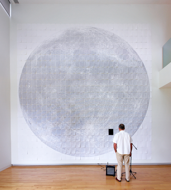 , 'Paper Moon (I Create as I Speak),' 2008, Contemporary Arts Museum Houston