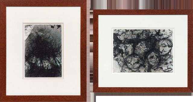 , 'A Pair; Goya Serie no. 17 and Goya Serie no. 81,' 1983, DICKINSON