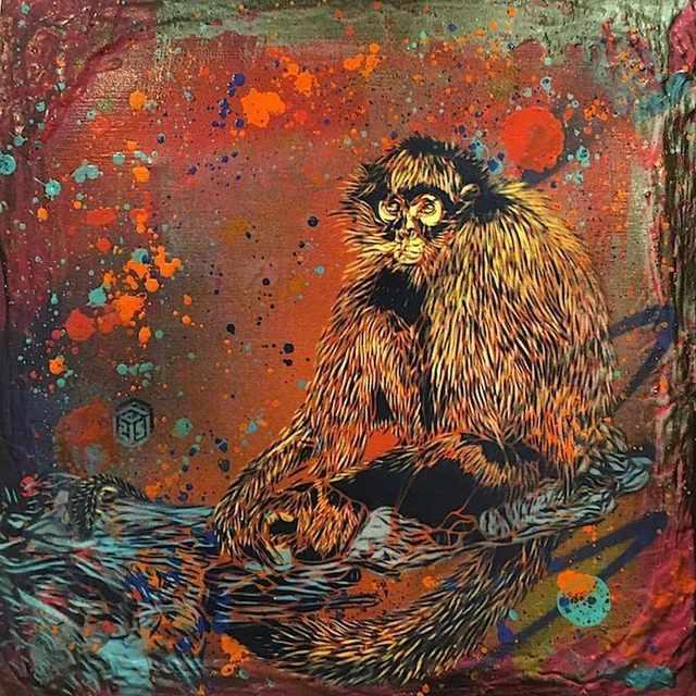 , 'Monkey ,' 2017, Mazel Galerie