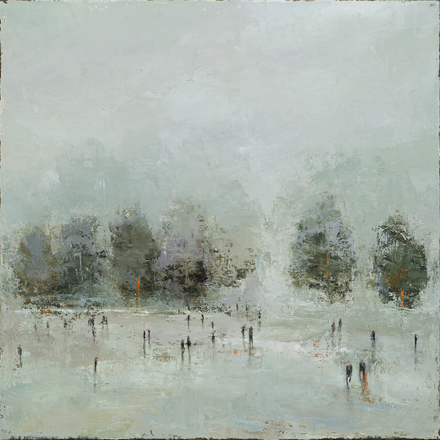 France Jodoin, 'Présence de l'absence', 2019, Painting, Oil on linen, Duran Mashaal