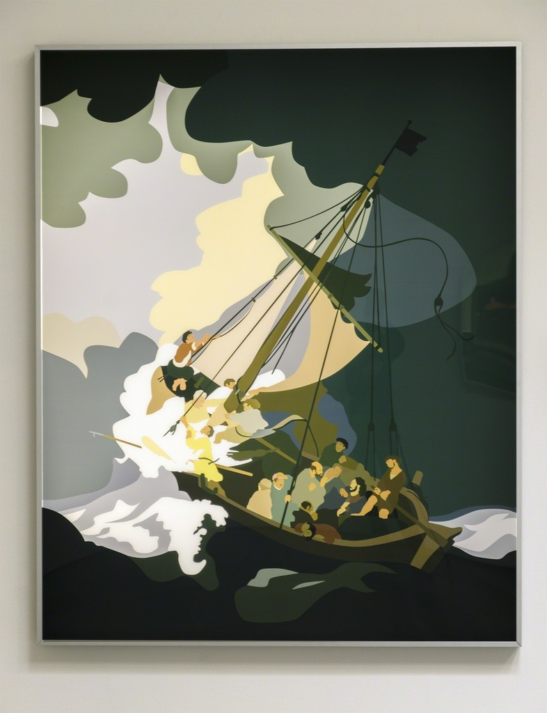 Kota ezawa the storm on the sea of galilee 2015 available kota ezawa the storm on the sea of galilee 2015 available for sale artsy publicscrutiny Images