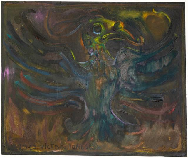 , 'Black Phoenix Bird,' 2016, Renaissance Art Gallery
