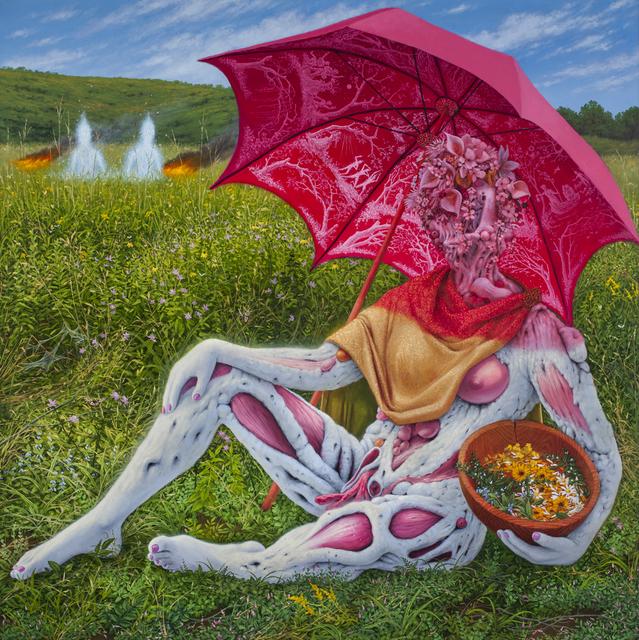 , 'Veiled Healer with Herbal Remedy,' , Corey Helford Gallery