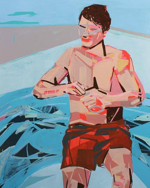 , 'Bachelor Float Tube,' , Boyd Satellite Gallery
