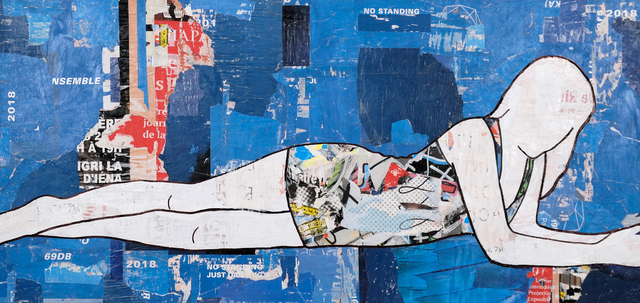 , 'Lying Down-Blue,' , Gilman Contemporary