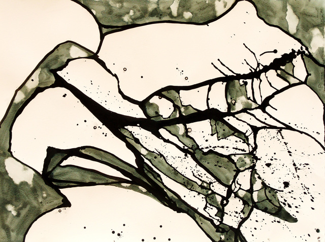 , ' Black and White Cracked Ice I #21,' 2012, ACA Galleries