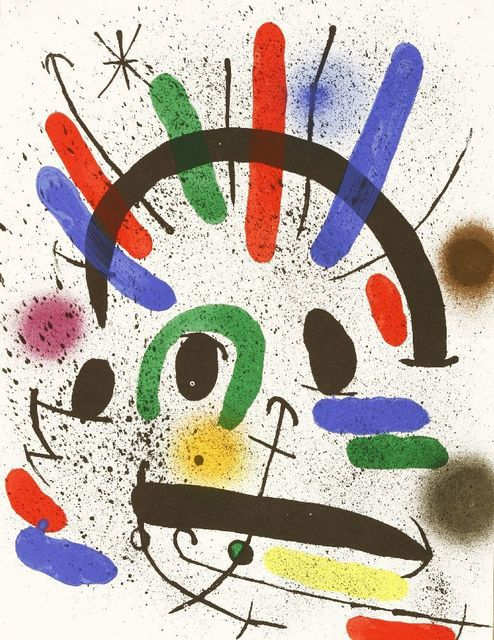 Joan Miró, 'From Lithographies I (Mourlot 858, 862, 865, 866)', 1972, Sworders