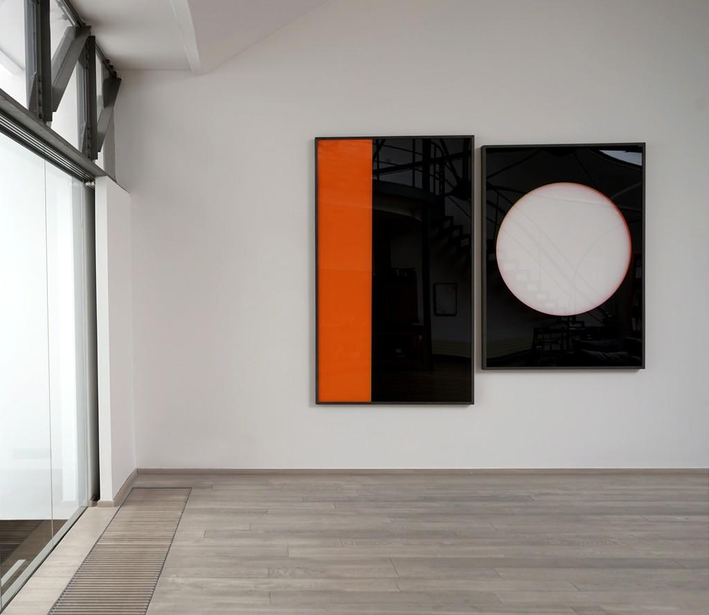 Exhibition : Au delà du visible - Artist : Moon-Pil Shim, South Korean - Lee-Bauwens Gallery