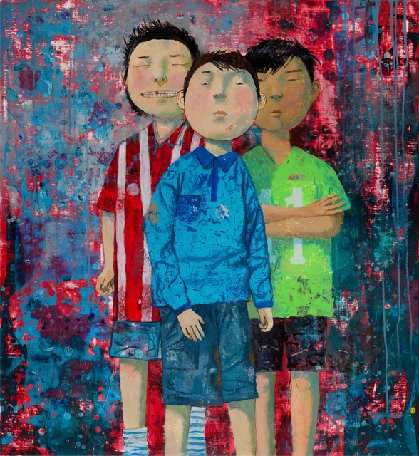 , 'The Team,' 2016, Gallery Khankhalaev