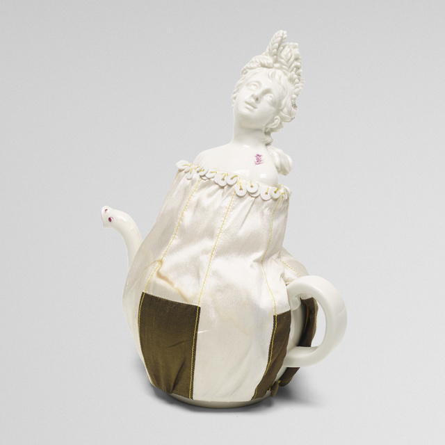Nymphenburg Porcelain Manufactory, 'Summer teapot', 2007, Rago/Wright