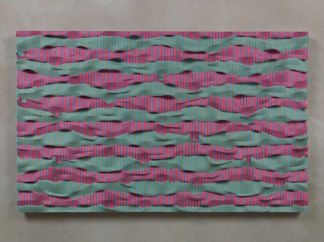 , 'Wavepack (Red, Violet, Green),' 2012, Loyal