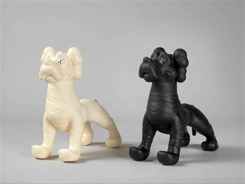KAWS, 'Zooth Dogs (White & Black)', 2007, Chet Gallery