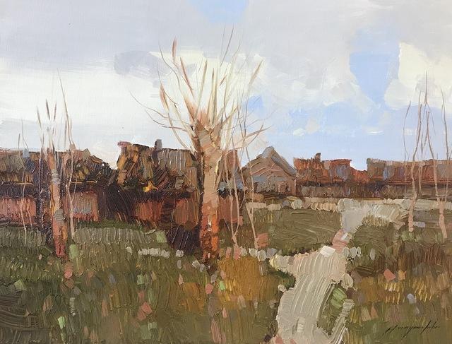 Vahe Yeremyan, 'Village', 2018, Vayer Art