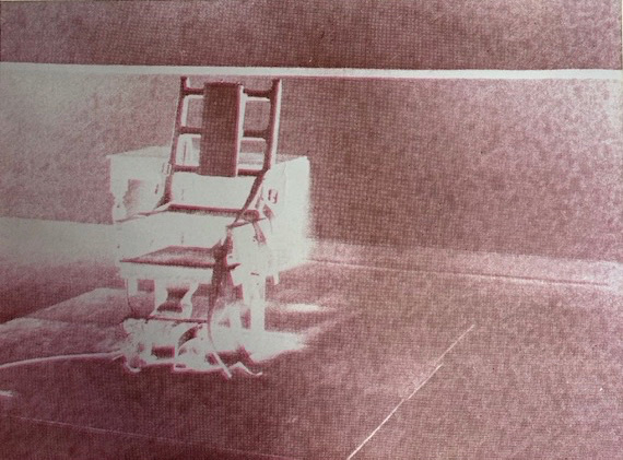 Andy Warhol, 'Electric Chair', 1971, Rachael Cozad Fine Art