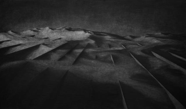 , 'Intersected Landscape,' 2016, rosenfeld