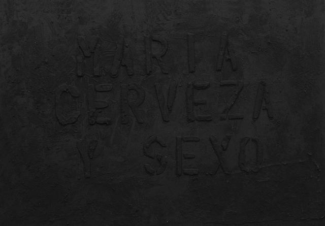 , 'María, Cerveza y Sexo (Weed, sex and beer),' 2014, Cosmocosa