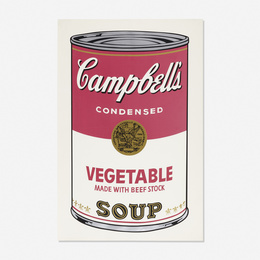 Vegetable Soup Can from Campbell's Soup I