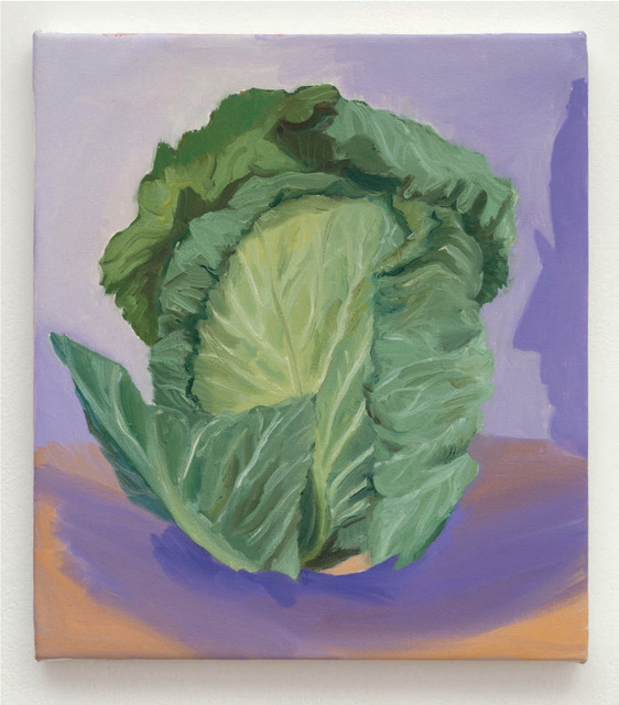 Allison Katz, 'Cabbage (and Philip) No. 10', 2015, Mendes Wood DM