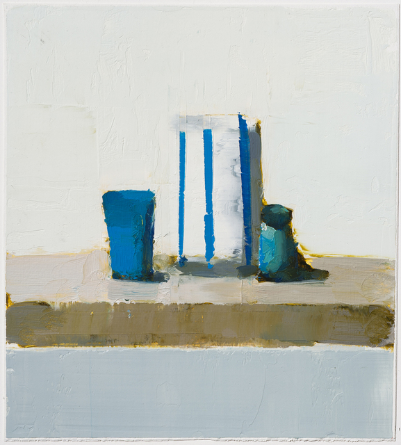 , 'Turkish Blue,' 2017, Rice Polak Gallery
