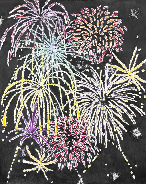 , 'Fireworks,' 2019, See You Next Thursday