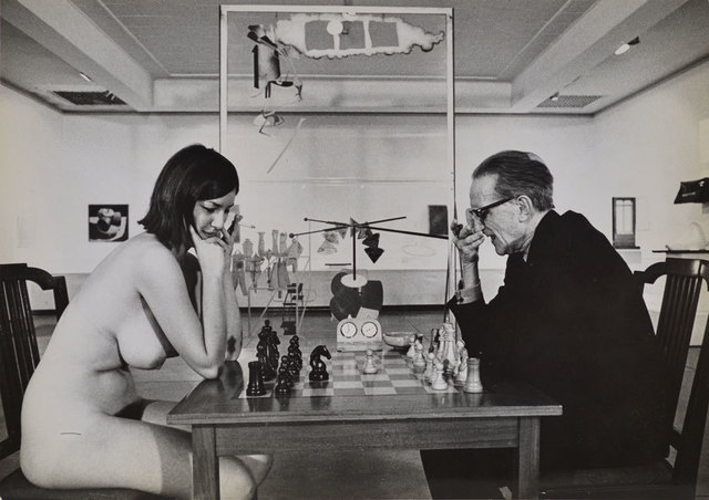 , 'Chess Match, Duchamp scratching nose, Duchamp Retrospective, Pasadena Art Museum,' 1963, Robert Berman Gallery