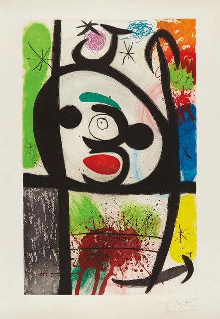 Joan Miró, 'La femme toupie (The Spinning Woman)', 1974, Phillips