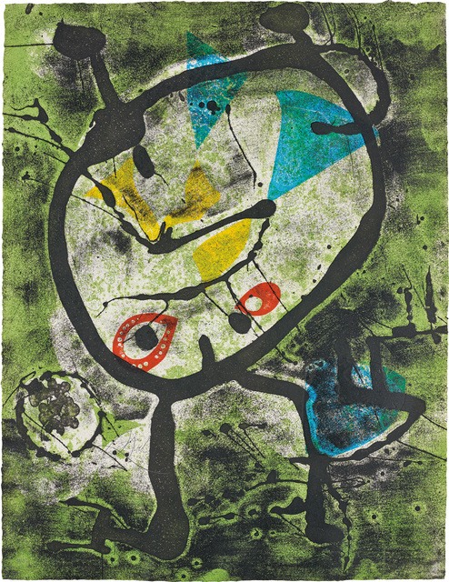 Joan Miró, 'Grans Rupestres II (Large Cave Paintings II)', 1979, Phillips