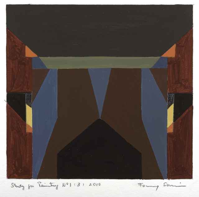 , 'Study for Painting No. 1 (3),' 2006, Leon Tovar Gallery