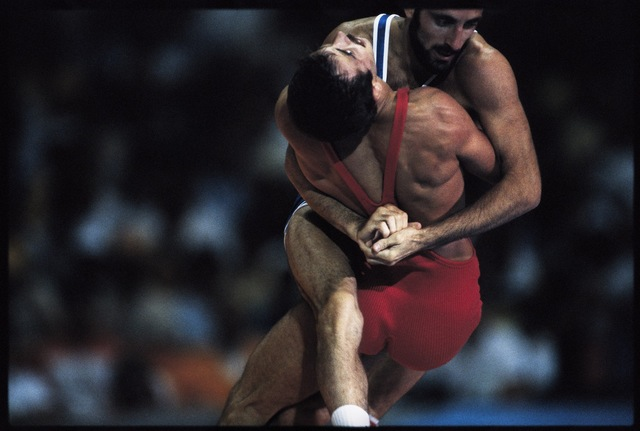 , 'Greco-Roman Wrestling. Los Angeles, California, USA.,' 1984, Anastasia Photo