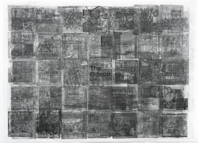 , 'Palimpsest (detail),' 2016, Galeria Plan B