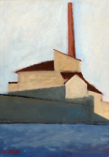 Ottone Rosai, 'La fabbrica', 1956, Finarte