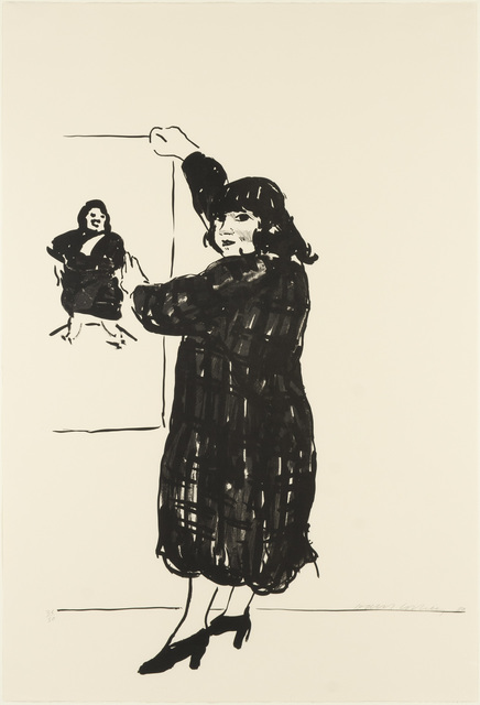 David Hockney, 'Ann Looking At Her Picture (M.C.A.T. 235; T. 270)', 1980, Doyle