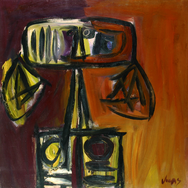 Oswaldo Vigas, 'Bruja amarilla ', 1965, Gary Nader