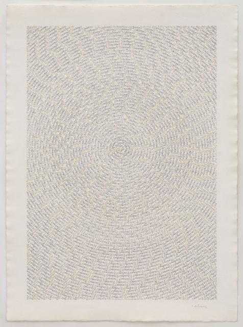 , 'Blattgold (2),' 1975, Richard Saltoun