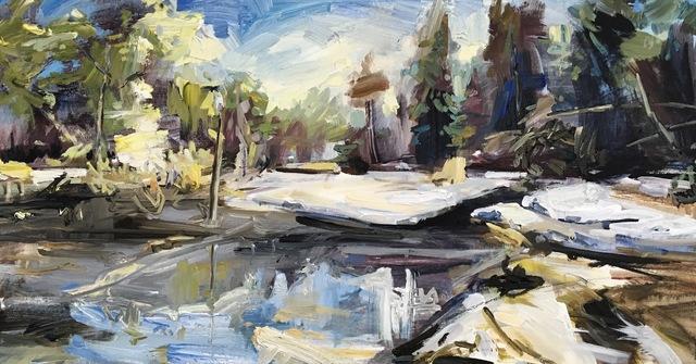 , 'Space for Scope,' 2018, Studio 21 Fine Art