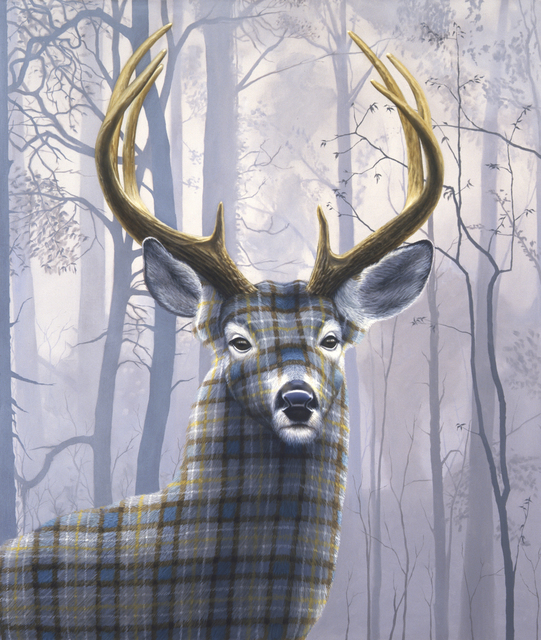 , 'Blue Buck,' 2014, Petzel Gallery