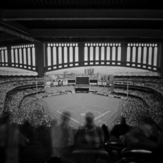 Cody S. Brothers, 'Black & White Photography: 'Yankee Stadium, NY'', 2016, Photography, Black & White Digital Chromogenic Print, Laminate, Black wood float frame, Ivy Brown Gallery