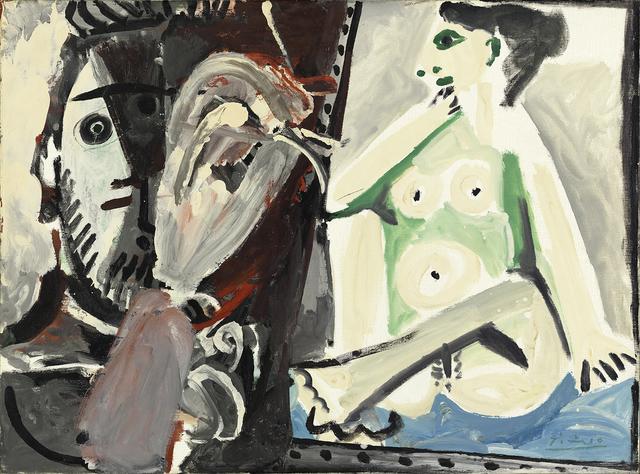 , 'Le peintre et son modèle,' 1964, Hammer Galleries