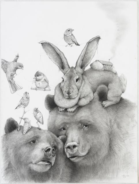 , 'Momma Bear,' 2016, Lora Schlesinger Gallery