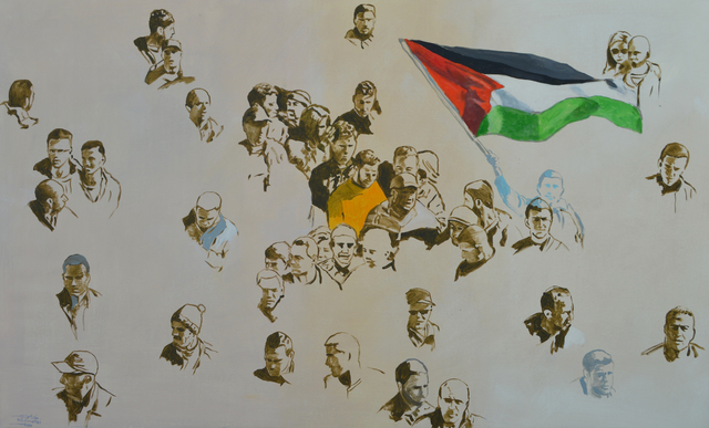 Khaled Hourani, 'Protest', 2019, Zawyeh Gallery