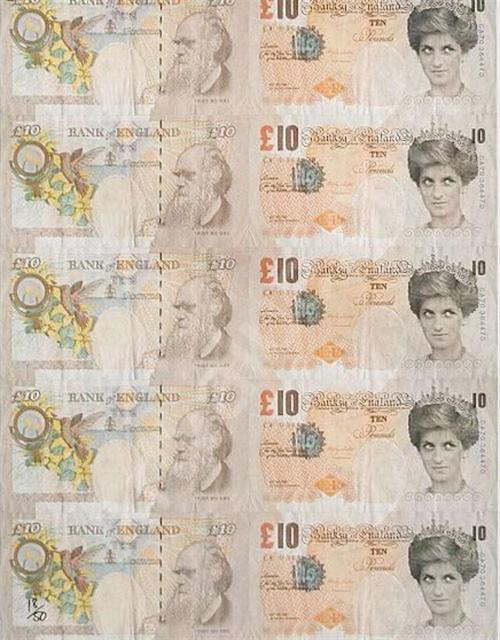 Banksy, 'Di Faced Tenners', 2004, Imitate Modern