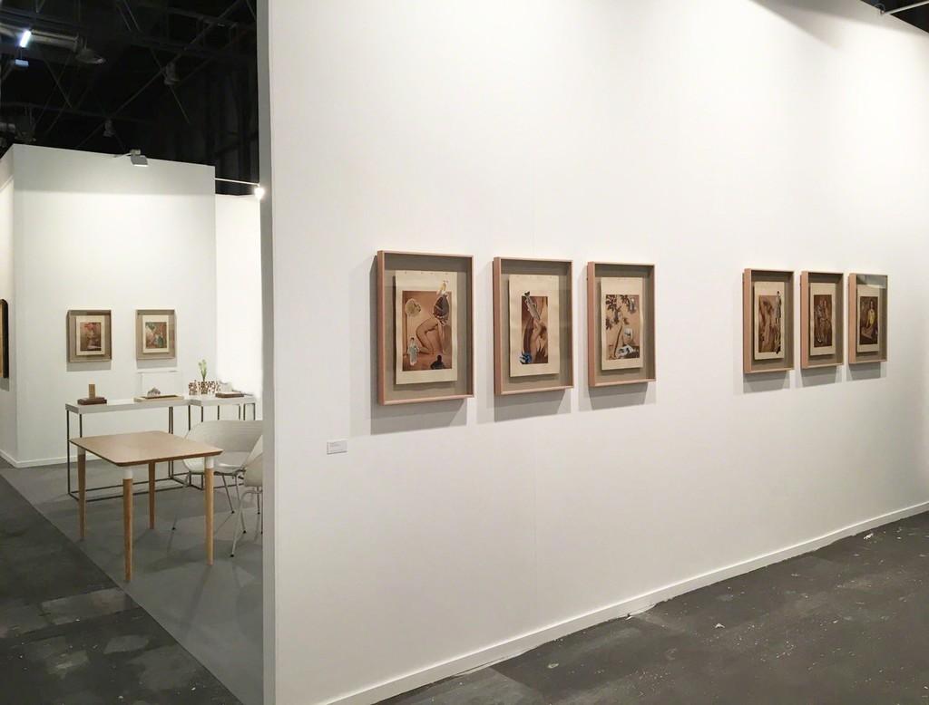 Carmen Calvo  at  ARCO 2018, stand Galería Rafael Ortiz (Madrid, Spain)